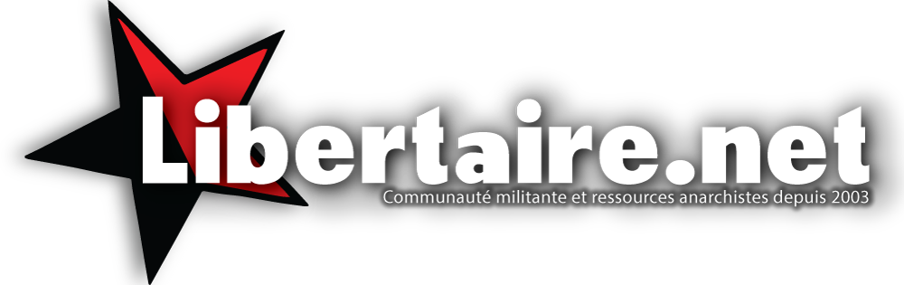 Libertaire.net - communauté militante et ressources anarchistes